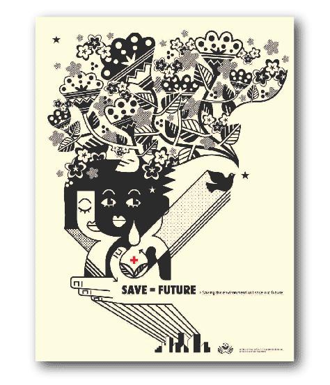 Ecology Poster Stubborn Sideburn 174